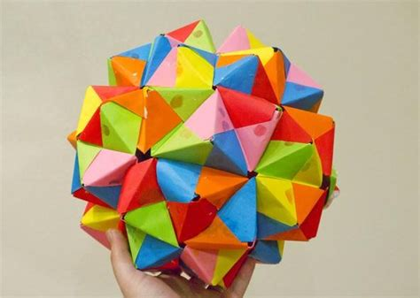 How To Make An Origami Dodecahedron - how to make a dodecahedron origami alfaomega info