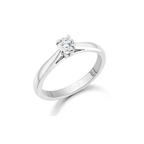gorgeous cheap solitaire wedding ring 0 25 carat cut
