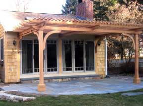 Attached Pergolas by Pergola Attached To Roof Pictures 187 Woodworktips