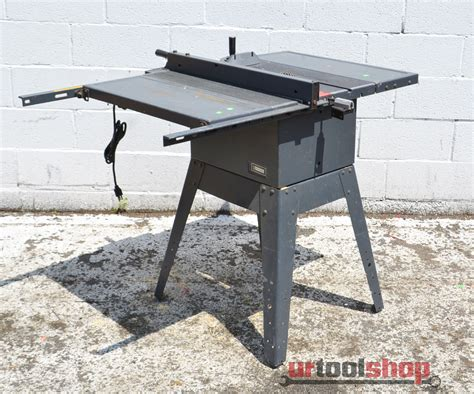 Table Saw Sears by Sears 10 Quot Direct Drive Table Saw Model 113 298090 0127 74