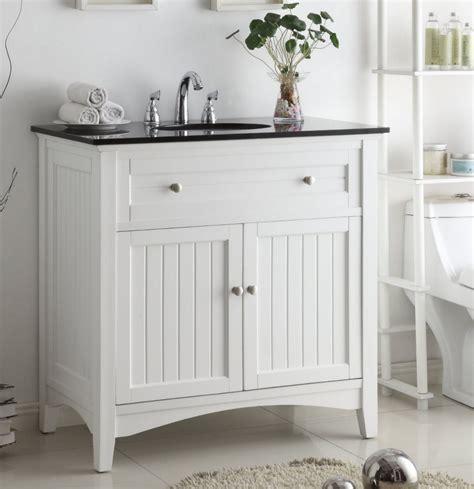 37 inch bathroom vanity coastal casual style beadboard