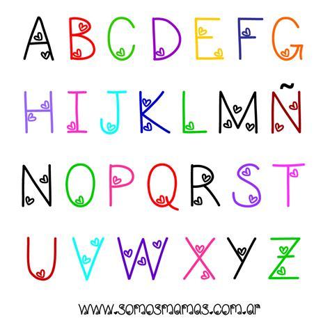 letras para ni241os abecedario para ni 241 os 15 maneras divertidas de aprender las letras