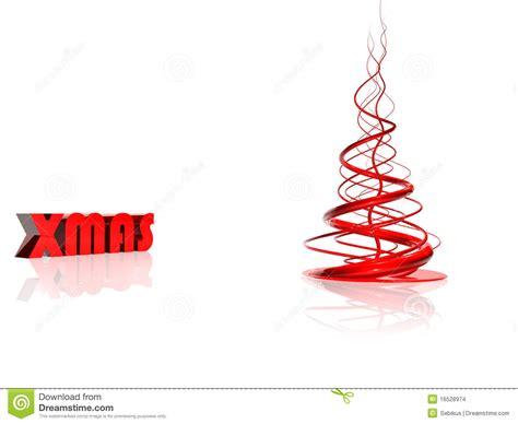 abstrakter roter weihnachtsbaum stockfoto bild 16528974