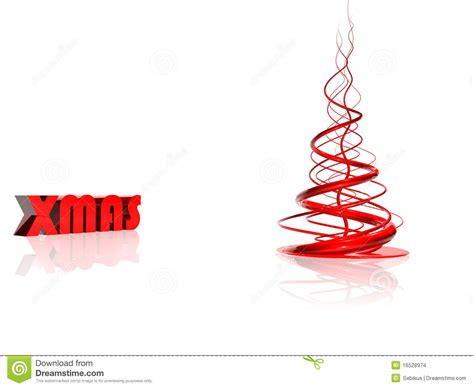 abstrakter roter weihnachtsbaum stockbilder bild 16528974