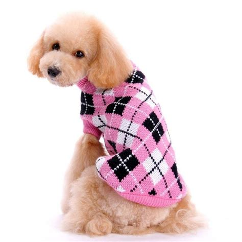 High Quality Dress Tp2838 Tm Pink Fashion hp95 tm clothes pet winter knitted sweater knitwear puppy