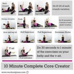 top core workouts for women for lean and strong belly