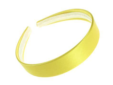 Bright Yellow Accessories by Bright Yellow Satin Band Hair Band Headband Bandeau