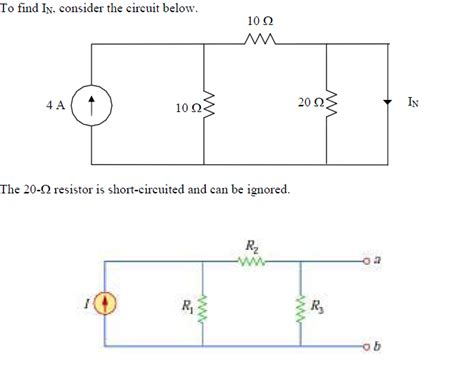 resistance why can a shorted resistor be ignored electrical engineering stack exchange