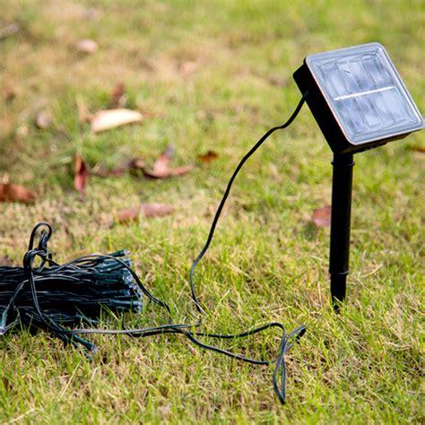 Solar Powered Garden Decor Decoration 200 Led Solar Power String Light Outdoor Garden Decor Ebay