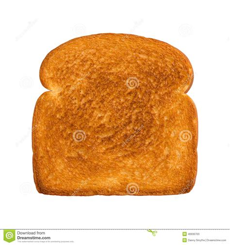 carbohydrates 1 slice bread toasted slice of white bread stock image image of