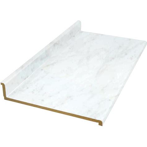 shop vti laminate countertops wilsonart 8 ft white
