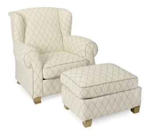 Grey Armchair And Ottoman A And Grey Plush Upholstered Wingback Armchair And