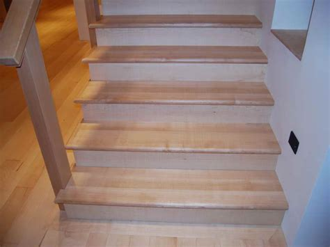 Best Flooring For Stairs Home Remodeling White Wooden Flooring For Stairs How To Choose The Best Flooring For Stairs