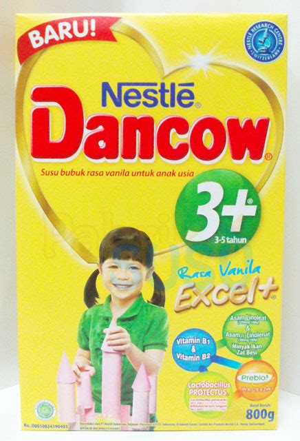 Lactogrow 4 Vanila 750g dancow 3 vanila 800g pabrik detil toko