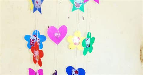 cara membuat hiasan dinding love cara membuat hiasan dinding dari kertas warna warni blog
