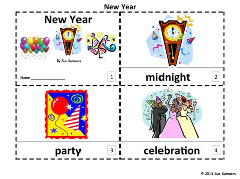 new year tes new year 2 emergent reader booklets by suesummersshop