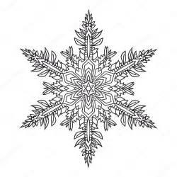 handgezeichnete kritzeleien nat 252 rliche schneeflocke