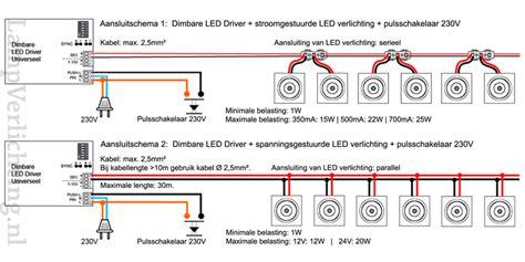 dimbare l aansluiten dimbare led driver universeel lverlichting nl