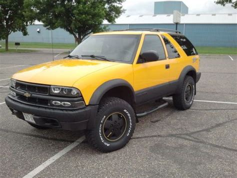 Cool Ls For Sale | buy used 2002 chevrolet blazer ls 2 door zr2 custom yellow