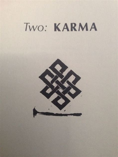 karma symbol tattoo 17 best ideas about buddhist tattoos on