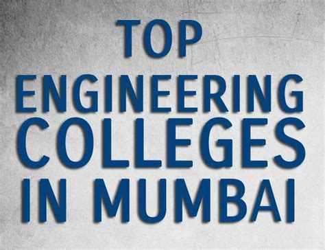 Mba In Banking And Finance Colleges In Mumbai by Top 10 Engineering Colleges In Mumbai Archives 12 April