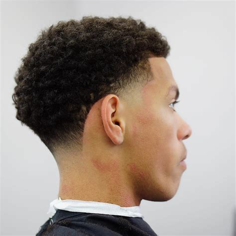 temp fade with curly frow curly low fade temple fade temple fade haircuts