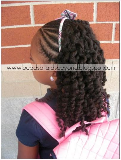 back to school hairstyles plaits little girls braiding styles naturally beautiful hair