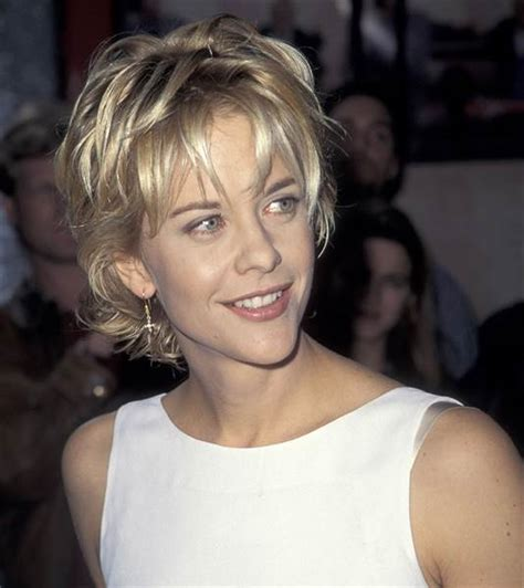 bobs of the 90s short hairstyles meg ryan shares the hot story behind her famous haircut