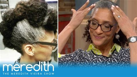 what is with carla halls gray hair 17 best images about meredith celebrities on pinterest