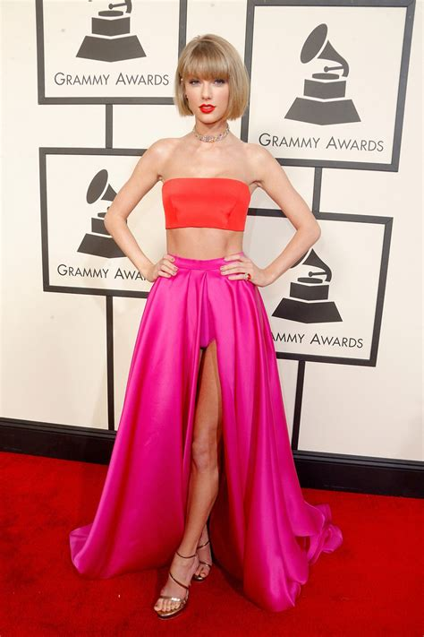 taylor swift and grammys grammys fashion 2016 the best dresses from the red carpet