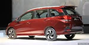 Honda Mobilio Honda Mobilio Rs Range Topper Launched In Indonesia Image