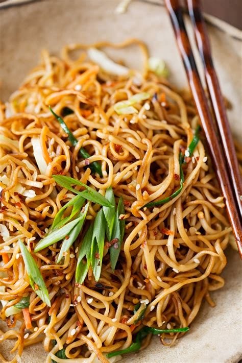 House Of Noodles by Cantonese Style Pan Fried Noodles Recipe Spice Jar