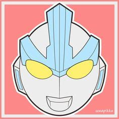 printable ultraman mask bandai ultraman ultra hero 500 quot 11 ultraman ginga quot 5