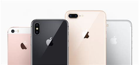 iphone x vs iphone 8 vs 8 plus vs iphone 7 specs comparison redmond pie