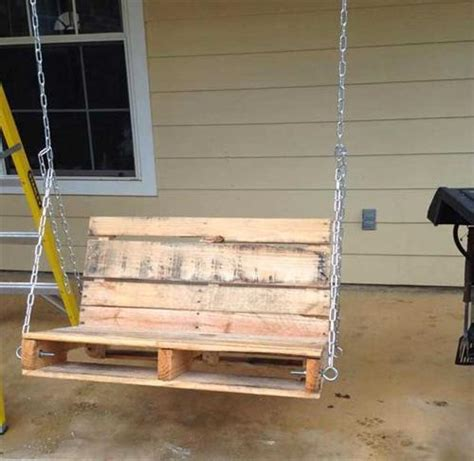diy pallet swing diy wooden pallet swing for your house pallets designs