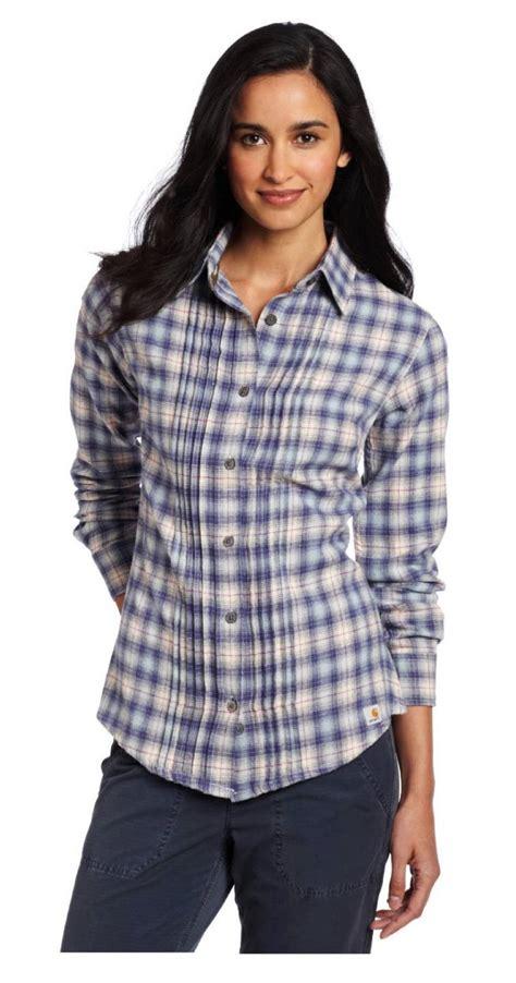 Kaos T Shirt Wanita Import Yellow Base Striped 192192 carhartt 100030 patriot blue irvine plaid flannel shirt top blouse small 4 6 ebay