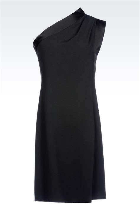 Kaos Stussy 1 By Ione Clothing lyst emporio armani one shoulder dress in cady with