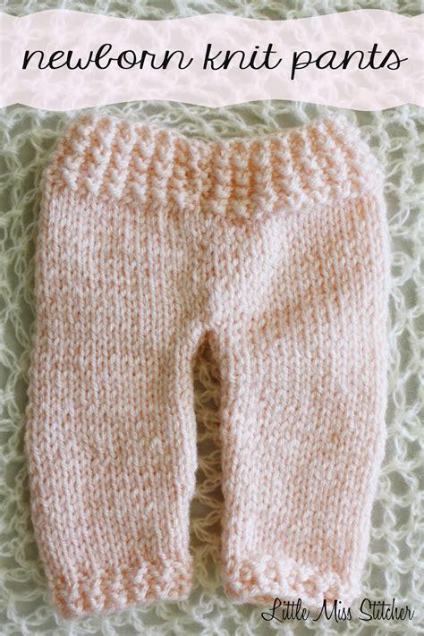 free pattern knitted leggings little miss stitcher newborn knit pants free pattern