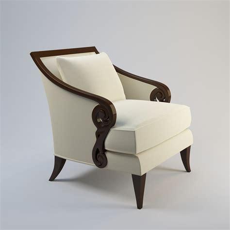 christopher guy armchair 3d christopher guy armchair 60 0027 model