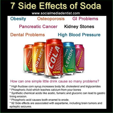 What Side Effects Does Detoxing From Soda by 41 Best Images About Psa Poster On Calorie