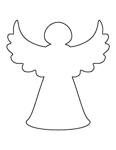 printable christmas tree angel christmas tree angel pattern use the printable outline
