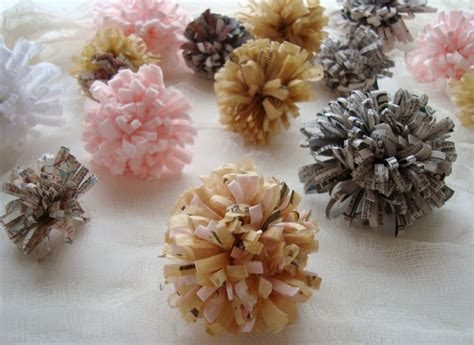 How To Make Recycled Paper Flowers - make allthings crochet craft handmade sewing recycled