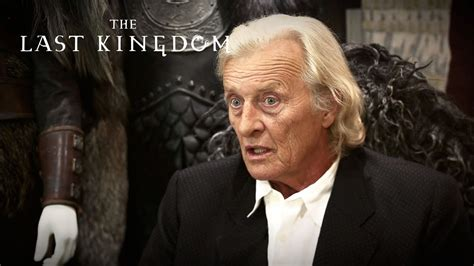 actor last video rutger hauer ravn interview the last kingdom youtube
