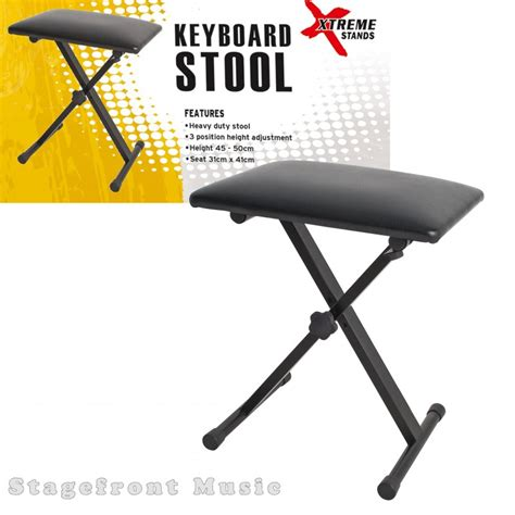 Keyboard Stool by Xtreme Keyboard Stool Bench Heavy Duty 3 Position
