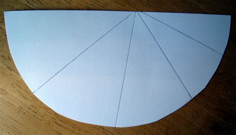 How To Make A Circle With Paper - half circle tree or card dianne faw