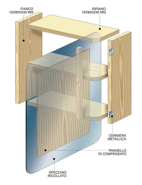 specchi bagno brico specchi fai da te 4 costruzioni illustrate
