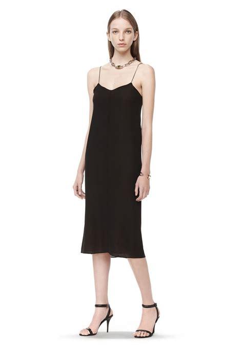 Slip Dress By Bleuciel Shop by Wang Silk Georgette Cdc Slip Dress 3 4 Length