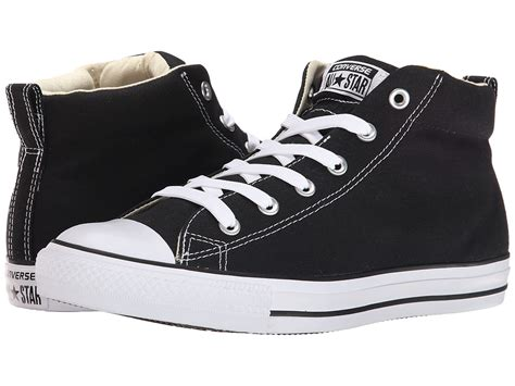 Converse High Black Brown converse brown leather suede padded collar high tops chuck