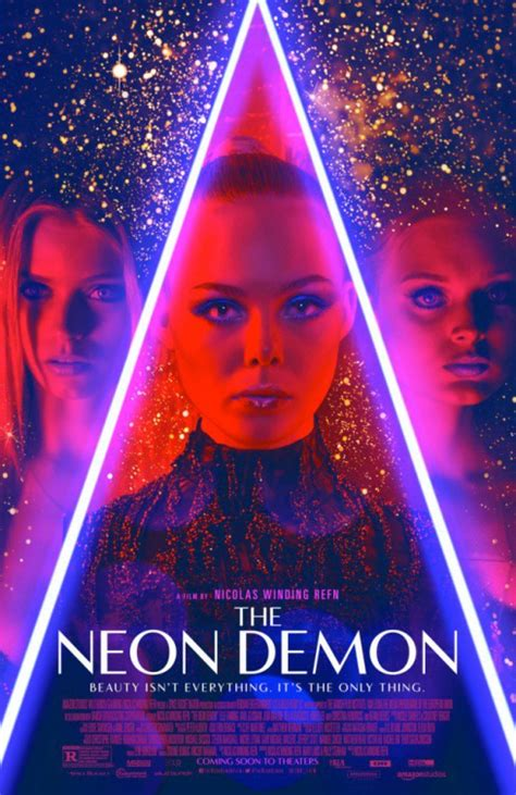 seven new character posters for nicolas winding refn s the neon demon poster is damn stylish and damn glittery