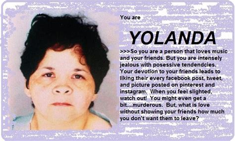 yolanda 21 days man disappointed with what selena character are you